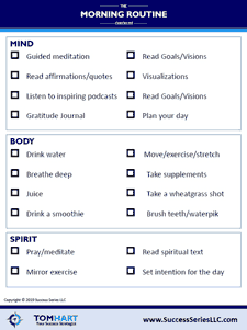Download my Morning Routine Worksheet!